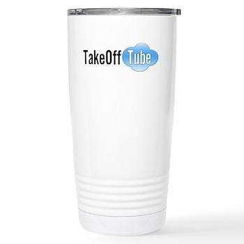 Takeoff Tube Stainless Steel Travel Mug