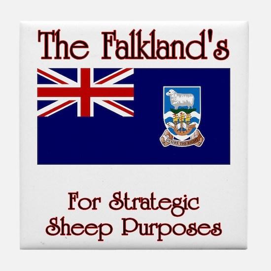 The Falkland's Tile Coaster
