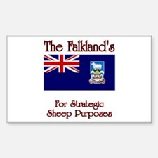 The Falkland's Rectangle Decal