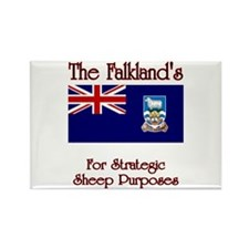 The Falkland's Rectangle Magnet