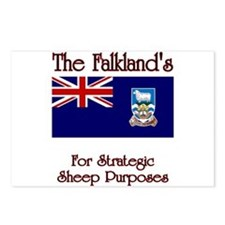 The Falkland's Postcards (Package of 8)