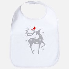 Winter Reindeer Bib