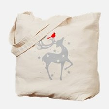 Winter Reindeer Tote Bag