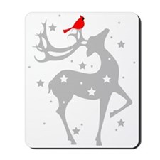 Winter Reindeer Mousepad