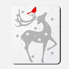 Winter Reindeer Mousepad
