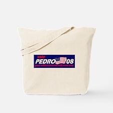 Vote for Pedro - blue Tote Bag