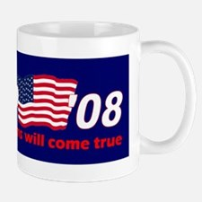 Vote for Pedro - blue Mug