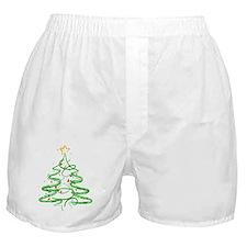 Christmas Tree Boxer Shorts