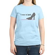 Race In Heels T-Shirt