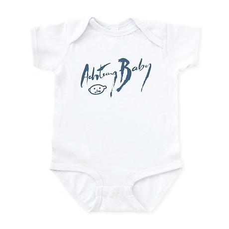 """Achtung Baby"" Infant Bodysuit"