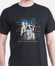 Lighthouses of South Africa T-Shirt