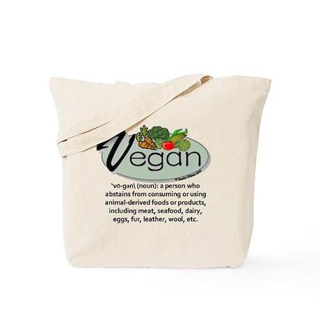 Vegan Definition Tote Bag