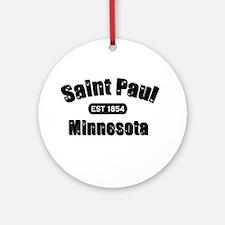 Saint Paul Established 1854 Ornament (Round)