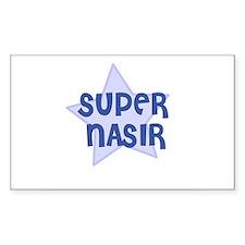 Super Nasir Rectangle Decal