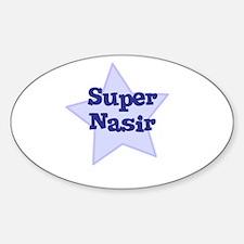Super Nasir Oval Decal