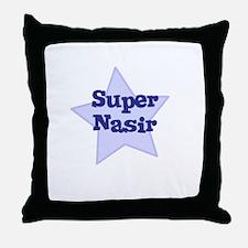 Super Nasir Throw Pillow