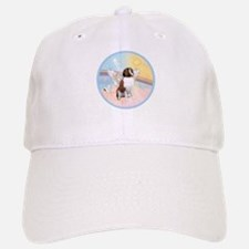 St. Bernard Angel Dog Baseball Baseball Cap