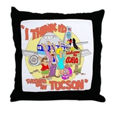 Welcome to CUBA Throw Pillow