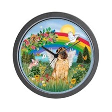 Rainbow - Shar Pei 2 Wall Clock