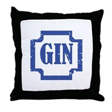 Gin Throw Pillow