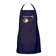 Gotta Have ART Apron (dark)