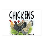 Chickens Taste Good! Postcards (Package of 8)