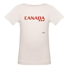 Canada 2010 Organic Baby T-Shirt