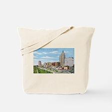 1940's St Paul Skyline Tote Bag