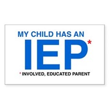 IEP Rectangle Stickers