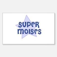 Super Moises Rectangle Decal