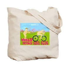 Tote Bag for a Nudist Camp