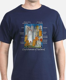 Lighthouses Of Iceland T-Shirt