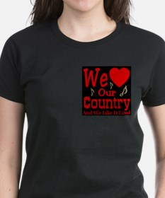 We Love Our Country Tee