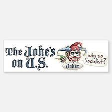 Anti Obama Joker Bumper Bumper Bumper Sticker