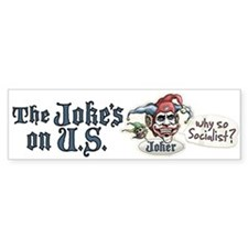 Anti Obama Joker Bumper Bumper Sticker
