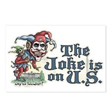 Anti Obama Joker Postcards (Package of 8)