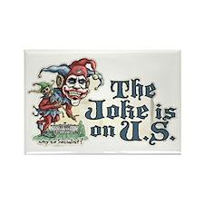 Anti Obama Joker Rectangle Magnet