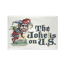 Anti Obama Joker Rectangle Magnet (10 pack)