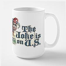 Anti Obama Joker Large Mug