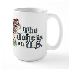 Anti Obama Joker Mug