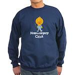 Neurosurgery Chick Sweatshirt (dark)