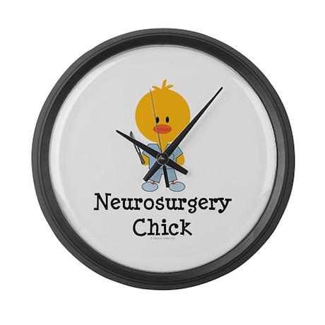 Neurosurgery Chick Large Wall Clock
