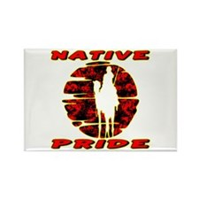 Native Pride #1002 Rectangle Magnet