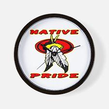 Native Pride #1001 Wall Clock