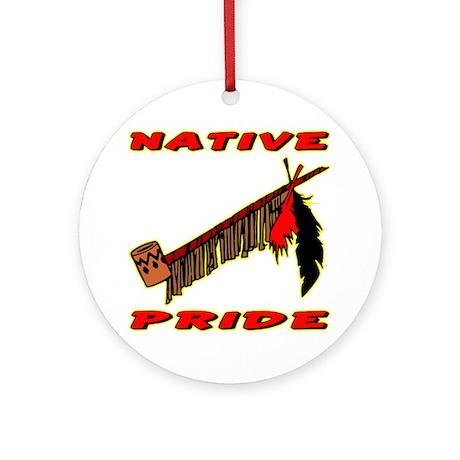 Native Pride #021 Ornament (Round)