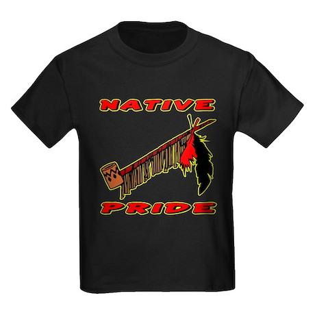 Native Pride #021 Kids Dark T-Shirt