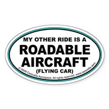 "Roadable Aircraft ""Ride"" Decal"