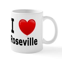 I Love Roseville Mug