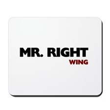 Mr Right Wing Mousepad