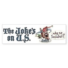 Obama Donkey Joker Bumper Bumper Sticker
